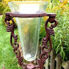 Glas-Regenmesser, originelle Dekoration Niederschlagsmesser als  Beetstecker