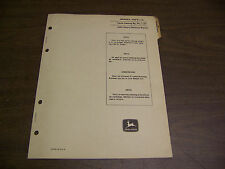 12039 John Deere Parts Catalog Pc-1137 Grinder Knife 101 Sep 68