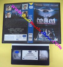 VHS film CAPE FEAR IL PROMONTORIO DELLA PAURA 1992 De Niro Nolte CIC(F52*)no dvd