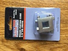"Brand New In Packet Sealey Brake Piston Cube 3/8""sq Drive VS039"