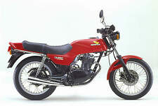 Honda Cb250Rs 81 A4 Metal Sign Motorbike Vintage Aged