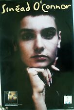 SINEAD O'CONNER NOTHING COMPARES 1990 VINTAGE MUSIC RECORD STORE PROMO POSTER