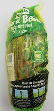 Apollo Pea & Bean Support Garden Net Mesh large size 6 metres x 2 metres