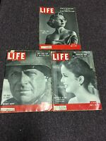 Lot Of 3 Life Magazines May 7 12, 1952 June 1, 1953 Diana Lynn Queen Elizabeth