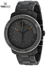 Movado Bold Grey Dial Titanium Band Quartz Men's Watch 3600097