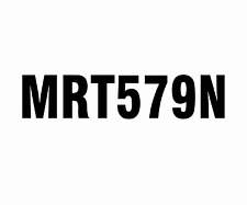 Boat registration rego number sticker / Decal  x 2   180mm high  or other b or w