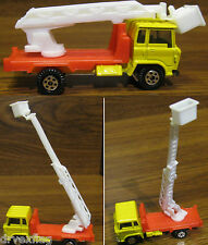 Vintage yatming Cable/Telephone/Line Repair Bucket Truck MINT VERY RARE