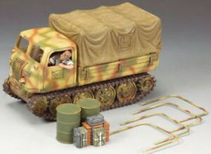 KING & COUNTRY WW2 GERMAN ARMY WS175 SUMMER RAUPENSCHLEPPER MIB
