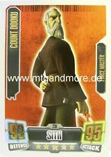 Force Attax Serie 2 Count Dooku #238 Force Master