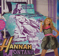 Hannah Montana Secret Single Bed Quilt Cover Set New *Super Special*