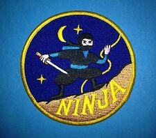Vintage 1970's Ninjutsu Ninja Martial Arts Mma Shinobi Uniform Gi Patch F