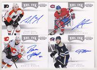 11-12 Panini Contenders Matt Read Auto NHL Ink Autograph 2011 Flyers