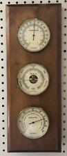 Vintage Verichron Weather Station Thermometer Barometer Hygrometer