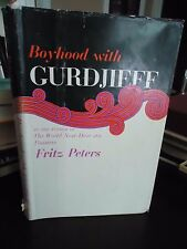 Boyhood With Gurdjieff - Fritz Peters - 1st HB DJ.