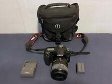 Canon EOS 30D 8.2MP Digital SLR Camera + EFS 17-85mm Lens + Tamrac Bag + Battery