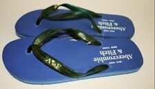 Abercrombie & Fitch Flip Flops - Blue - Size 9 / 10 (Large)