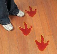 Set of 12 Large Dinosaur Foot Print Floor Decal Clings