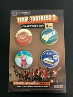 Team Fortress 2 | 4 Pin Collector Set | Loot Crate Exclusive