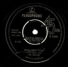 THE HOLLIES Stop Stop Stop Vinyl Record 7 Inch Parlophone R 5508 1966