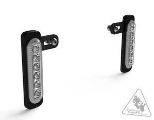 DENALI Daytime Running Lights With Universal Offset Mounting Kit - White Light