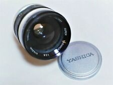 Yashica Super Yashinon-R 3.5cm 35mm f/2.8 Fast CINE Wide Angle Lens for M42
