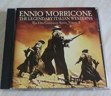 CD BOF FILM ENNIO MORRICONE THE LEGENDARY ITALIAN WESTERNS 31 TITRE 1990