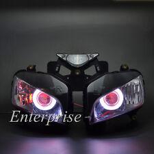 Projector Headlight Angel Demon Eyes HID for Honda CBR1000RR CBR1000 RR 04-07