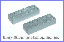 LEGO 2 x Basic pierres gris (6 x 2) - 2456-Brick Light Bluish Gray-Neuf/New