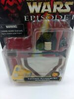 Star Wars Ep 1 Phantom Menace Tatooine Accessory Set w/Pull-Back Droid Toy K311