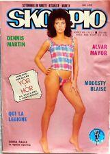 RIVISTA SKORPIO N.21 1983 MODESTY BLAISE DENNIS MARTIN