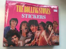 1983 Rolling Stones Rockstars rare puffy stickers full box