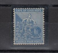 Cape of Good Hope QV 1884 4d Blue SG51a Mint MLH Gum J973