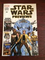 STAR WARS PREVIEW  MARVEL COMIC BOOK  Star Wars 001 New