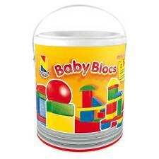 30 Holzbausteine bunt extra groß für die Kleinsten Baby-Blocs NEMMER M.i.Germany