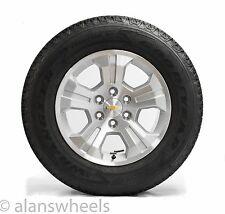 "Four New Chevy Silverado Avalanche Z71 18"" Wheels Rims Fortitude Tires Lug Nuts"
