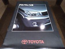 Depliant brochure Toyota RAV4 iItaliano