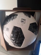 Adidas Telstar 18 World Cup Official Match Soccer Ball W Cup Ce8083 Omb Size 5