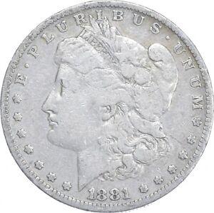 Early - 1881-O Morgan Silver Dollar - 90% US Coin *999
