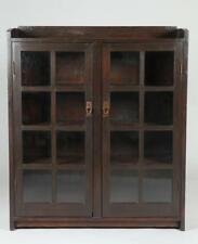 20TH CENTURY GUS STICKLEY #717 TWO DOOR BOOKCASE, Early 20th Century.... Lot 823