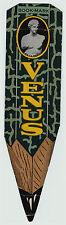 RARE - ca 1915 VENUS Pencil Advertising Bookmark - Color - Shape of Pencil