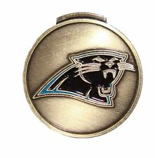 Carolina Panthers Hat Clip with Golf Ball Marker