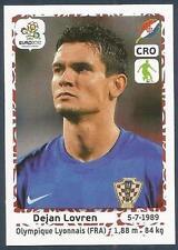 PANINI EURO 2012- #378-HRVATSKA-CROATIA-LYON-DINAMO ZAGREB-DEJAN LOVREN