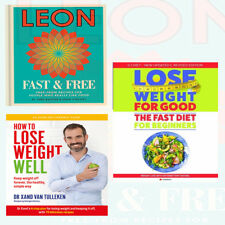 Lose Weight For Good Fast Diet 3 Books collection set How To lose,Leon Fast NEW