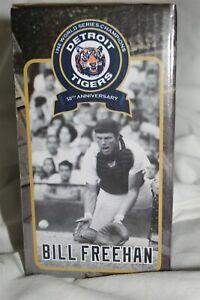 """BOBBLEHEAD BILL FREEHAN MLB 1968 DETROIT TIGERS 50TH ANNIVERSARY 6"""" TALL LAYS"""