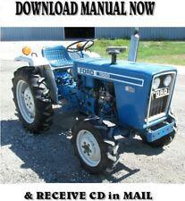 1986 Ford 1910 Tractors Repair Shop Service Manual On Cd