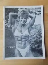 WOMEN'S PHYSIQUE PUBLICATION female bodybuilding muscle magazine/MARY RYAN 12-85