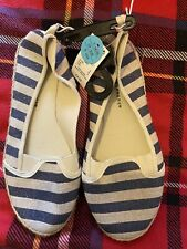 Primark Atmosphere Navy Shoes Ballerina Pumps UK6