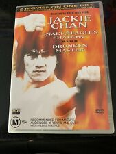 Snake In The Eagle's Shadow / Drunken Master DVD Region 4 Jackie Chan Rare