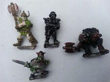 WARHAMMER x 4 metal Citadel  Miniatures - 1985/7