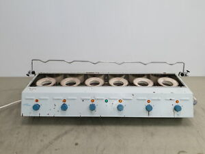 Clifton-Kjeldahl 6x Positions Extraction Heater Lab 2700W (6x450W)